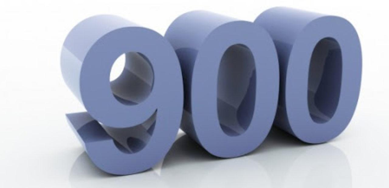 900 number